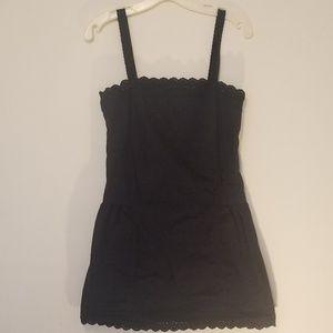 Libertine drop-waist black sundress - size 3